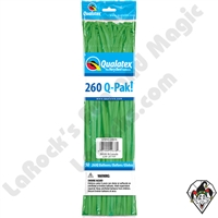 Qualatex 260Q-Pak Fashion Spring Green Balloons 50ct