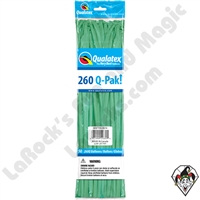 Qualatex 260Q-Pak Fashion Wintergreen Balloons 50ct