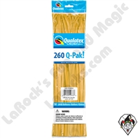 Qualatex 260Q-Pak Fashion Goldenrod Balloons 50ct