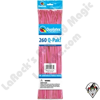 Qualatex 260Q-Pak Fashion Rose Balloons 50ct