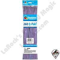 Qualatex-260Q Pak Fashion Spring Lilac Balloons 50ct