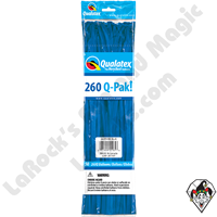 Qualatex-260Q Pak Jewel Sapphire Blue Balloons 50ct