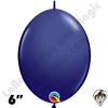 Qualatex 6 inch Quick Link Fashion Navy Blue Balloons 50ct