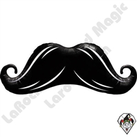 Qualatex 12 Inch Mustache Shape Foil Balloon 1ct 1ct
