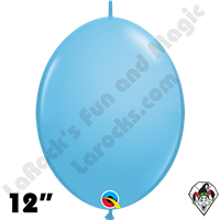 Qualatex 12 inch Quick Link Standard Pale Blue Balloons 50ct