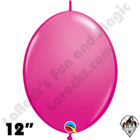 Qualatex 12 inch Quick Link Fashion Wild Berry Balloons 50ct