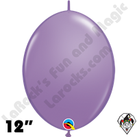 Qualatex 12 inch Quick Link Fashion Spring Lilac Balloons 50ct