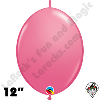 Qualatex 12 inch Quick Link Fashion Rose Balloons 50ct