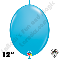 Qualatex 12 inch Quick Link Fashion Robins Egg Blue Balloons 50ct