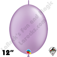 Qualatex 12 inch Quick Link Pearl Lavender Balloons 50ct