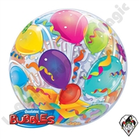 Bubble 22 Inch Birthday Surprise Qualatex 1ct