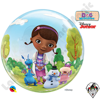 22 Inch Disney Doc McStuffins Bubble Qualatex 1ct