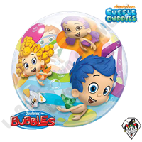 22 Inch Bubble Guppies Bubble Qualatex 1ct