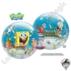 22 Inch SpongeBob & Friends Bubble Qualatex 1ct