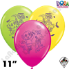 Qualatex 11 Inch Round Dora The Explorer Assortment Balloons 25ct