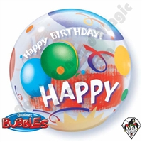 22 Inch Birthday Celebration Bubble Qualatex 1ct