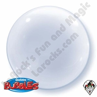 Qualatex 24 Inch Clear Deco Bubble Balloon 1ct