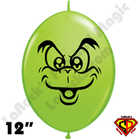 12 Inch Quick Link Grouchie Balloons by Juan Gonzales Qualatex 50ct