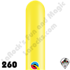 Qualatex | 260Q | Balloons in Plain Standard Single Colors by Qualatex
