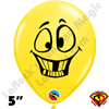 Qualatex 5 Inch Round Emoji Crazy by Juan Gonzales 100ct