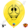 Qualatex 5 Inch Round Emoji Tongue by Juan Gonzales 100ct