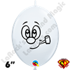 Qualatex 6 Inch Quicklink Frankie Balloon by Juan Gonzales 100ct