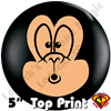 Qualatex 5 Inch Round Top-Print Funky Monkey Balloon by Juan Gonzales