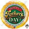 18 Inch Round Hoppy Father's Day! Foil Qualatex Balloon 1ct