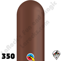 Qualatex | 350Q | Jewel & Special Tone Colors | Chocolate Brown