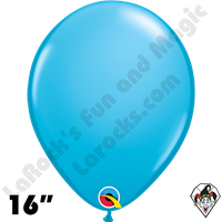 Qualatex 16 Inch Round Fashion Robins Egg Blue Balloons 50ct