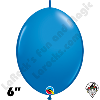 Quick Links Balloons | 6 inch Quick Links Standard Single Colors | Dark Blue
