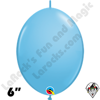 Qualatex 6 inch Quick Link Standard Pale Blue Balloons 50ct