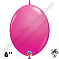Qualatex 6 inch Quick Link Fashion Wild Berry Balloons 50ct