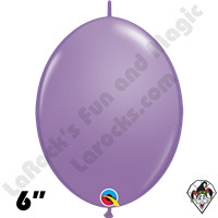 Qualatex 6 inch Quick Link Fashion Spring Lilac Balloons 50ct