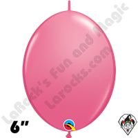 Qualatex 6 inch Quick Link Fashion Rose Balloons 50ct