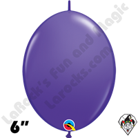 Qualatex 6 inch Quick Link Fashion Purple Violet Balloons 50ct