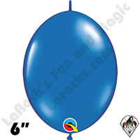 Qualatex 6 inch Quick Link Jewel Sapphire Blue Balloons 50ct
