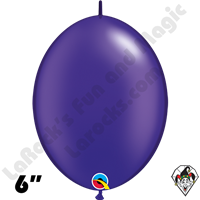 Qualatex 6 inch Quick Link Pearl Quartz Purple Balloons 50ct