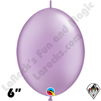Qualatex 6 inch Quick Link Pearl Lavender Balloons 50ct