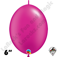Qualatex 6 inch Quick Link Pearl Magenta Balloons 50ct