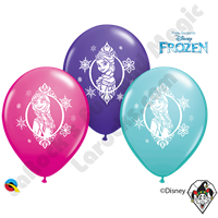 Qualatex Party Pack 12 Inch Round Disney Frozen 6ct