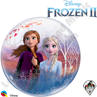 22 Inch Disney Frozen 2 Bubble Qualatex 1ct