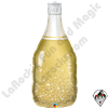 39 inch Shape Golden Bubbly Wine Bottle Foil Qualatex Balloon 1ct