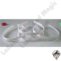 Hair Bands 1/2 White 10pc
