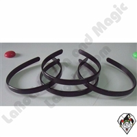 Hair Bands 1/2 Black 10pc