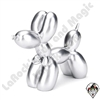Balloon Dog Sculpture Silver