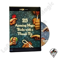 Magic | Thumb Tips | 25 Tricks with a Thumb Tip | DVD