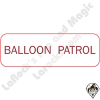 Stickers & Stuff | Pins & Buttons | Balloon Patrol pins