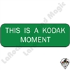 Stickers & Stuff | Pins & Buttons | This is a Kodak Moment Pin