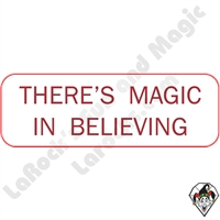 Stickers & Stuff | Pins & Buttons | There's Magic in Believing Pin